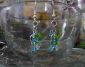 Sea Crystals Earrings