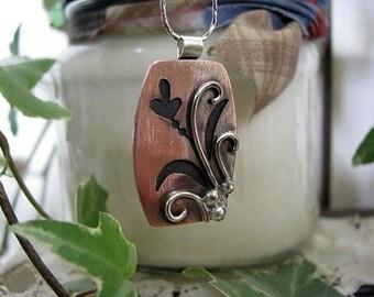 Small Copper Pendant