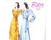 Retro Butterick '48 Robe