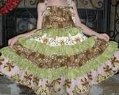 Sale!   Size 6 Ruffled Sundress...