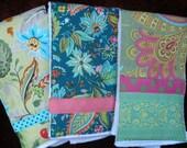 Set Of Three Burp Cloths