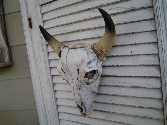 Clearance Sale Bull Cow Bison Skull Head Wall Decor Man