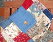 Handmade Perfect for Farmer's Market Purse Over the Shoulder Bag