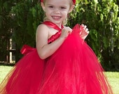You Little Devil You Tutu Dress 12m-5T  Great for Halloween or Portraits
