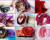 Design a Set of 10 Custom Clutches for Your Bridesmaids - Bridesmaid Gift Ideas - Bridesmaid Bouquet Clutch - 50 Purse Colors to Choose From