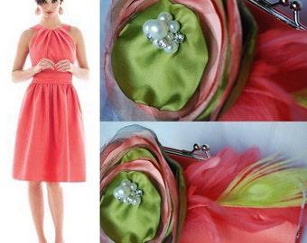 Bridesmaid Clutch - Bridesmaid Bouquet Clutch - Bridesmaid Gift Idea - Custom Clutch Collection - Bridal Clutch - Personalized Clutch