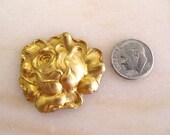 Brass Rose Stamping