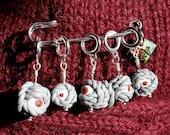 Caution.....Live Yarns Knitting Stitch Markers (Eyes)