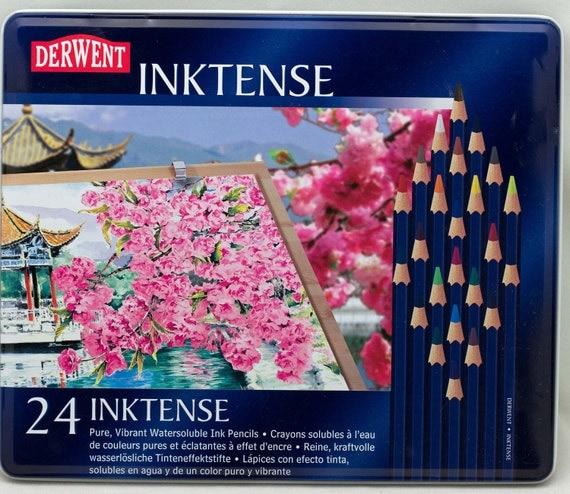 Derwent Inktense 24 Ink Pencils