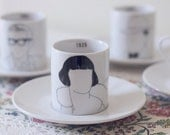 The Flapper Girl - Expresso Cup