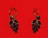 Garnet Earrings -Reduced