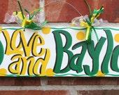 Baylor Sign Handpainted
