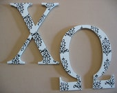 Chi Omega Large Greek Letters