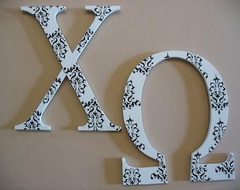 Chi Omega Large Greek Letters