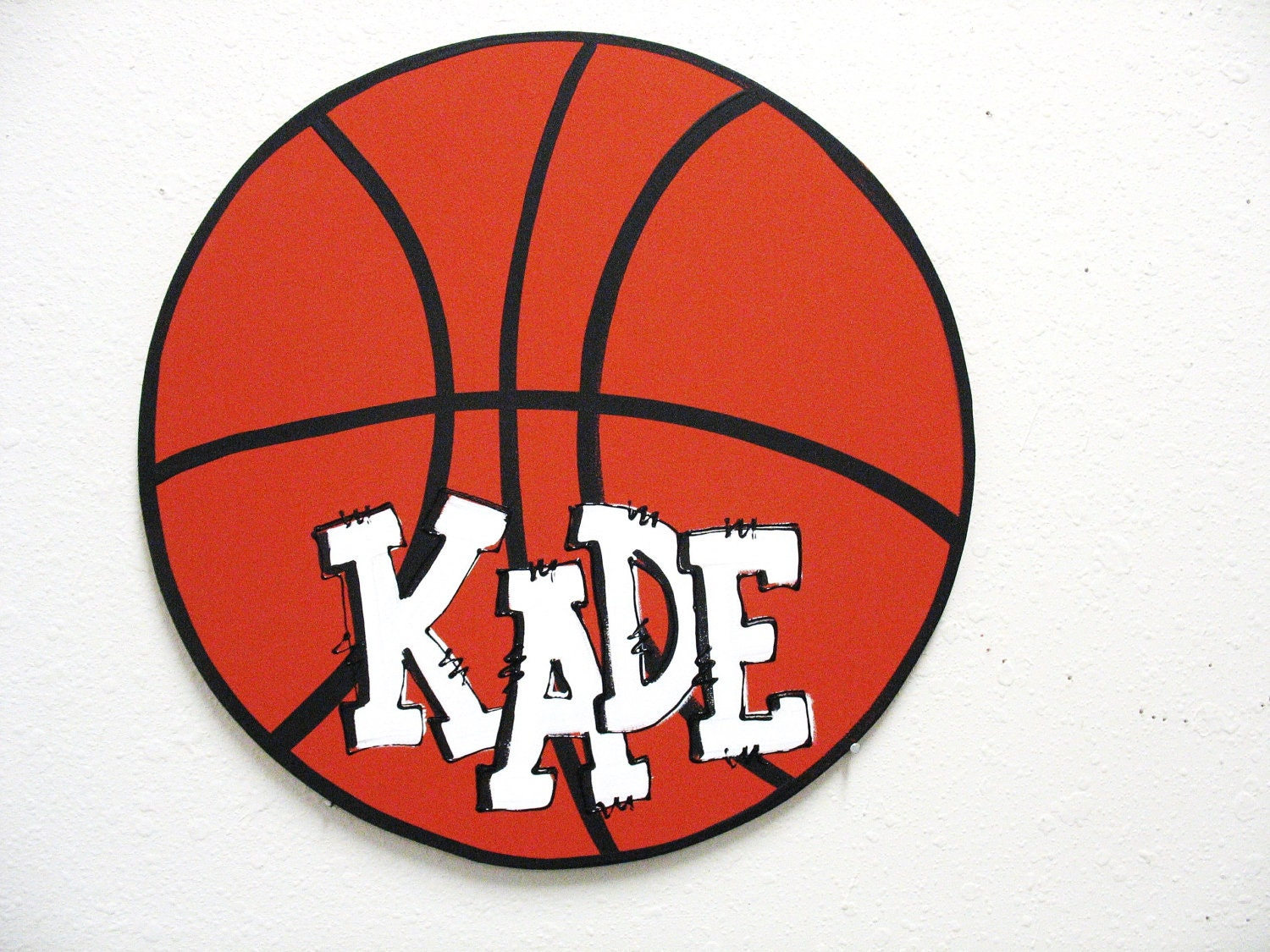 Basketball wall decor personalized for Basketball mural