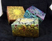 Celtic-themed paper boxes