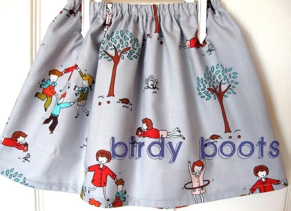 girls skirt...'Lil Apples' - twirl Skirt ... ... by birdy boots on Etsy  ...6 months to 7 years....