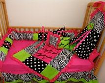 Popular Items For Zebra Baby Bedding On Etsy