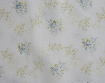 Collection 12 by Quilt Gate 1040 13C Blue Rose Garlands