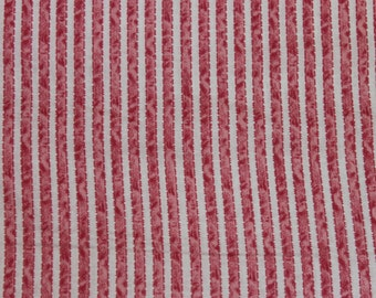 Penelope Pink Ribbon Stripe  LH11048PNK Lakehouse Dry Goods French Fabric