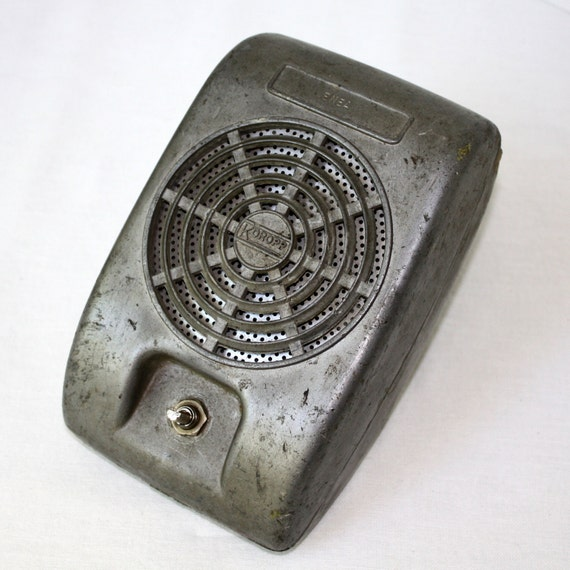 Antique Metal ENEA Drive In Movie Speaker by Roropp