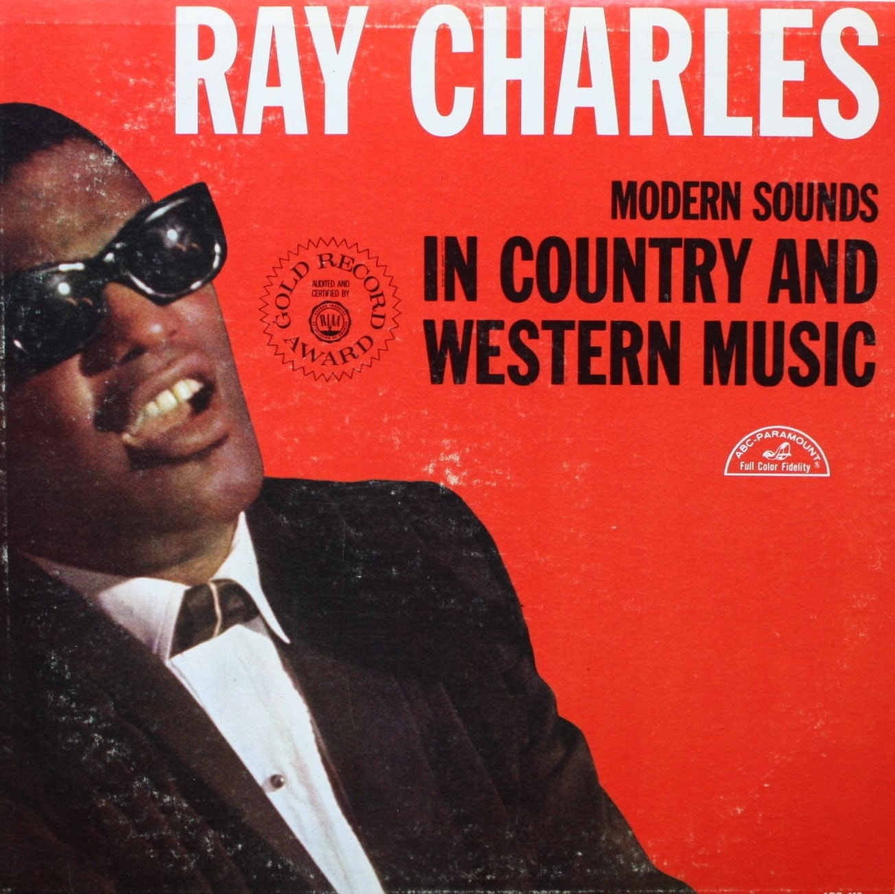 Ray Charles Lp Record Album Modern Sounds In Country And