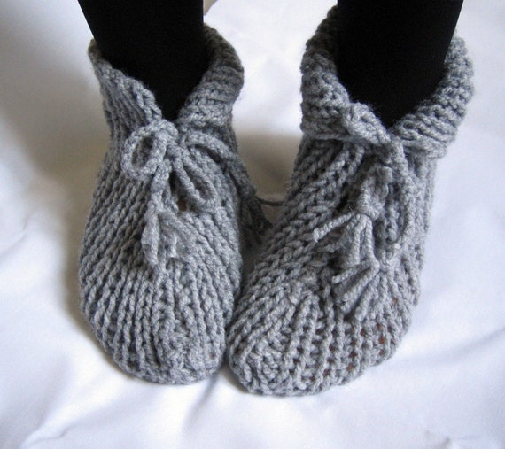NEW  SEASON Grey Slippers Socks FreeShipping