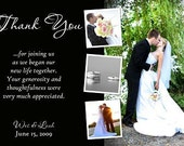 Thank You Cards Wedding, Photo digital