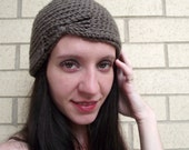 Adult Butterfly Beanie Hat in Taupe...42 Other Colors Available