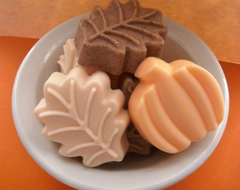 Fall Harvest Mix Shea Butter Soap - 3 Bars - Country Apple-Cinnamon-Vanilla