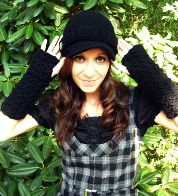 Fingerless Gloves...You Choose From 42 Colors