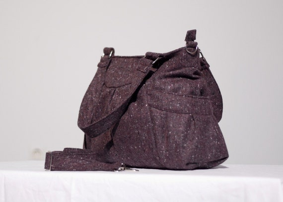 Elessa in Plum Berry Wool FREE SHIPPING