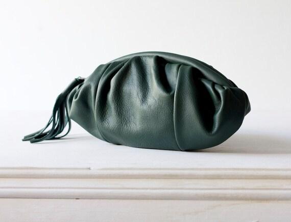 Mini phaedra in Green genuine Leather