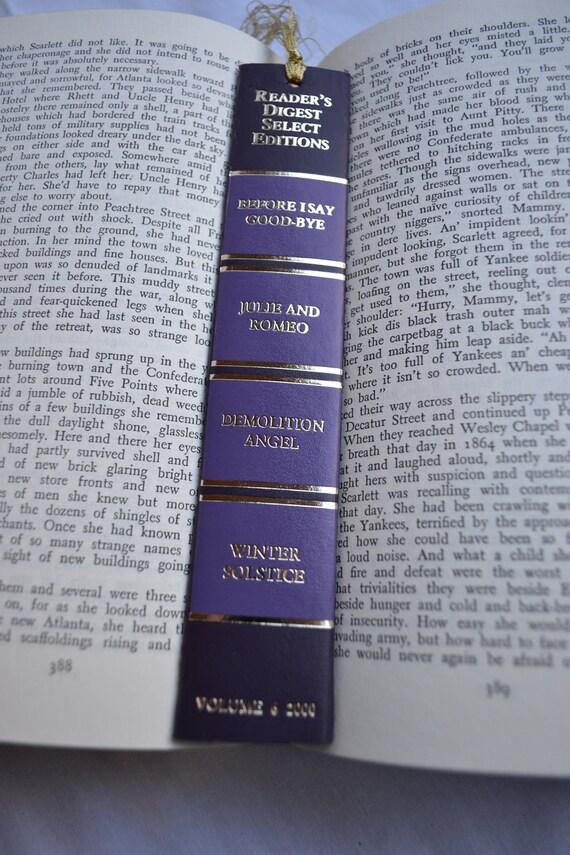 Purple Dream Handmade Bookmark