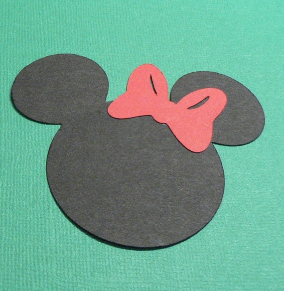 Minnie Mouse Head Paper Punches