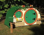 Unique Hobbit / Fairy Style Wooden Children's Playhouse (LOCAL PICKUP ONLY)