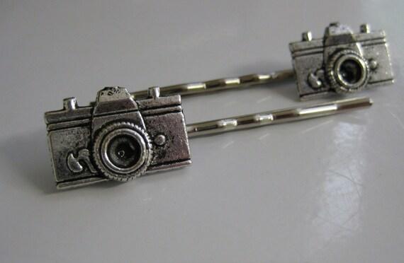 Camera Bobby Pins