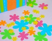 Flower Party/Wedding Confetti - Approx 500 pieces - Tropical