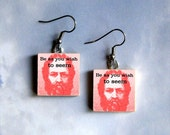 SOCRATES Earrings - Be as you wish to seem