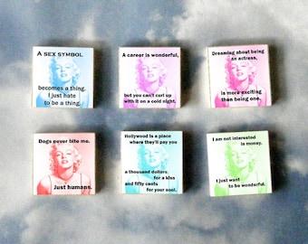 MARILYN MONROE Magnet Gift Set