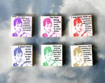 AUDREY HEPBURN Magnet Gift Set