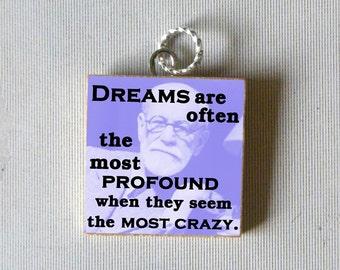 Sigmund Freud Pendant - Dreams are often the most profound