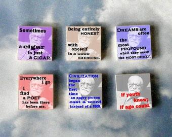 Sigmund Freud Magnet Gift Set