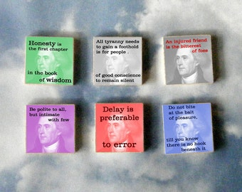 Thomas Jefferson Magnet Gift Set