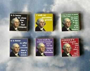 GEORGE WASHINGTON Magnet Gift Set