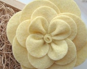 DIY do-it-yourself How To Make a Gardenia Felt Flower Pattern Tutorial- PDF Instructions will be emailed to you within 24 hours