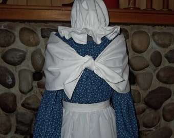 Girls Colonial Dress Costume Civil War Pioneer Prairie Choice of Prints