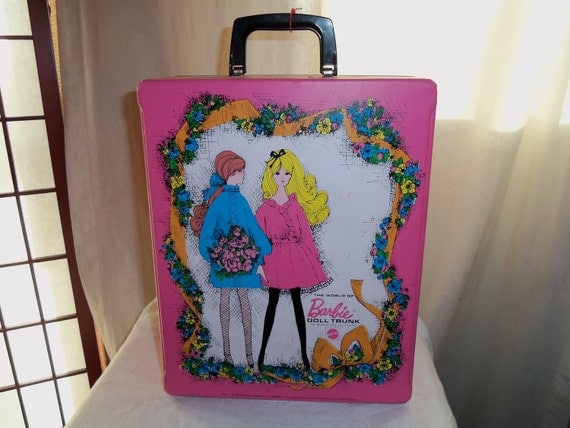 Vintage 1968 Mattel Barbie Doll & Friends Trunk Case