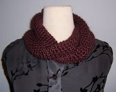 KNIT PATTERN - Easy Mock Moebius Infinity Cowl