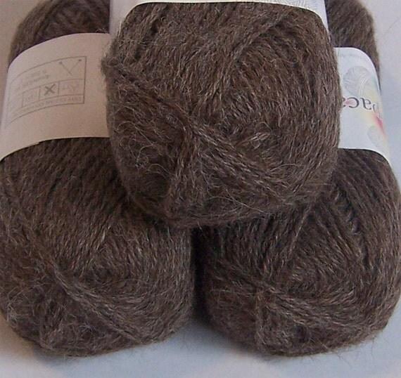 Rodeo Rose Gray DK Alpaca Yarn (50 g)